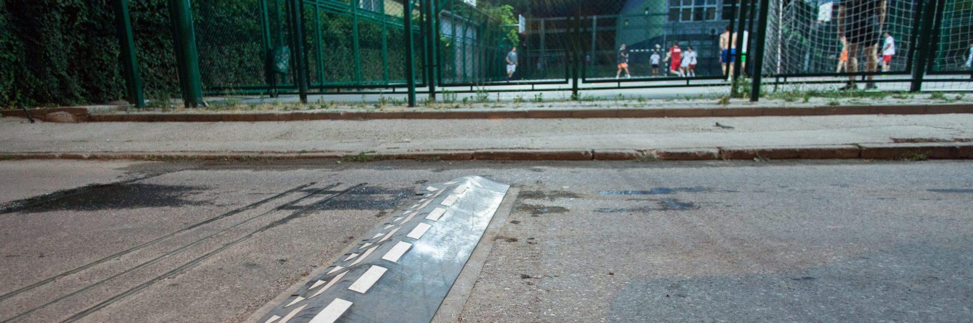 SmartBump on a street